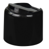 20/410 Black Disc-Top Dome Cap