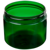 6 oz. Dark Green PET Straight Sided Jar with 70/400 Neck (Cap Sold Separately)