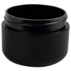 1 oz. Dome Double Wall Black Jar with 53/400 Neck (Cap Sold Separately)