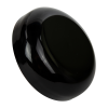 53/400 Black Polypropylene Dome Cap
