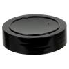 63/485 Black Polypropylene Spice Cap