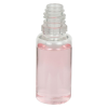 15mL Clear PET Boston Round CRC E-Liquid Bottle