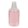 30mL Clear PET Boston Round CRC E-Liquid Bottle