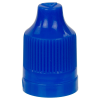 13/415 Blue CRC/TE Cap for 10mL and Larger E-Liquid Bottles