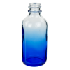60mL Faded Blue E-Liquid Boston Round Glass Bottle with 20/400 Neck (Cap Sold Separately)