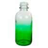 60mL Faded Green E-Liquid Boston Round Glass Bottle with 20/400 Neck (Cap Sold Separately)