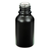 15mL Matte Black E-Liquid Boston Round Glass Bottle with 18/415 Neck (Cap Sold Separately)