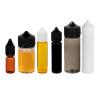 16.5mL Transparent Amber PET Unicorn Bottle with Black CRC/TE Cap