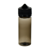 120mL Black PET Unicorn Bottle with Black CRC/TE Cap