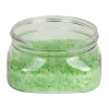 4 oz. Clear PET Firenze Square Jar with 70/400 Neck (Cap Sold Separately)