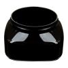 8 oz. Black PET Firenze Square Jar with 70/400 Neck (Cap Sold Separately)