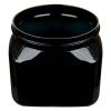 16 oz. Black PET Firenze Square Jar with 89/400 Neck (Cap Sold Separately)