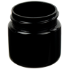 1 oz. Black PET Straight Sided Jar with 38/400 Neck (Cap Sold Separately)