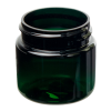 1 oz. Dark Green PET Straight Sided Jar with 38/400 Neck (Cap Sold Separately)