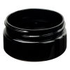 2 oz. Black PET Straight Sided Jar with 58/400 Neck (Cap Sold Separately)