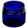 3 oz. Cobalt Blue PET Straight Sided Jar with 58/400 Neck (Cap Sold Separately)