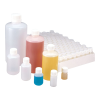 2 oz./60mL Nalgene™ Sterile Narrow Mouth HDPE Economy Bottle with 20/415 Cap - Case of 540