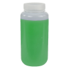1000mL HDPE Wide Mouth Pre-Cleaned & Certified Smart Container with Cap