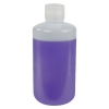 1000mL HDPE Narrow Mouth Pre-Cleaned Container with Certified Bar Code & Cap - Case of 50