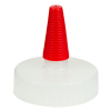 38/400 Natural Yorker Spout Cap with Long Red Tip