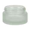 15mL Frosted Glass Jar with 43/400 Neck (Caps Sold Separately)