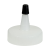 38/400 Natural Yorker Spout Cap with Regular Black Tip