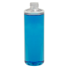 16 oz. Clear PET Cylinder Bottle with 28/410 Neck (Cap Sold Separately)