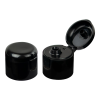 24/410 Black Dome Snap-Top Cap