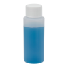 2 oz. Natural Cylindrical Sample Bottle with 24/410 Cap