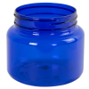 22 oz. Blue PET Jar with 89mm Neck (Cap Sold Separately)