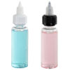 30mL Clear PET Vapenado Bottle with Black CRC Cap