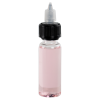50mL Clear PET Vapenado Bottle with Black CRC Cap