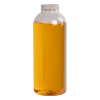 16 oz. Clear PET Wide Mouth Cosmo Bullet Bottle with 38mm ISS/IPEC Neck (Cap Sold Separately)