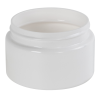 6 oz. White PET Low Profile Jar with 70/400 Neck (Caps sold separately)