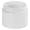 8 oz. White PET Low Profile Jar with 70/400 Neck (Caps sold separately)