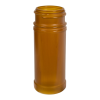 4 oz. Amber Polypropylene Spice Jar with 43/485 Neck (Cap Sold Separately)