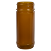 16 oz. Amber Polypropylene Spice Jar with 63/485 Neck (Cap Sold Separately)