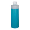 16 oz. Translucent Cylindrical Sample Bottle with 24/400 CRC Cap