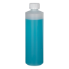 16 oz. Translucent Cylindrical Sample Bottle with 28/400 CRC Cap