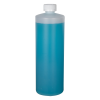 32 oz. Translucent Cylindrical Sample Bottle with 28/400 CRC Cap