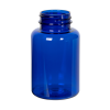 175cc Cobalt Blue PET Packer Bottle with 38/400 Neck (Cap Sold Separately)