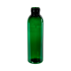 4 oz. Dark Green PET Cosmo Round Bottle with 24/410 Neck (Cap Sold Separately)