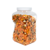 160 oz. Square PET Grip-It Jar with 110/400 Cap