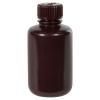 4 oz./125mL Nalgene™ Amber Narrow Mouth Bottle with 24mm Cap