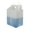2.5 Gallon/10 Liter Nalgene™  Level 5 Fluorinated Jerrican