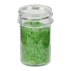 3/4 oz. Polystyrene Straight Sided Clear Jar with 33/400 Neck (Cap Sold Separately)