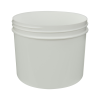 32 oz. Polypropylene Straight Sided White Jar with 120/400 Neck (Cap Sold Separately)