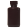4 oz./125mL Nalgene™ Amber Narrow Mouth Economy Bottle with 24mm Cap
