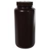 16 oz./500mL Nalgene™ Amber Narrow Mouth Economy Bottle with 28mm