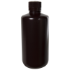 32 oz./1000mL Nalgene™ Amber Narrow Mouth Economy Bottle with 38mm Cap